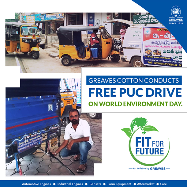 free puc drive on environment day